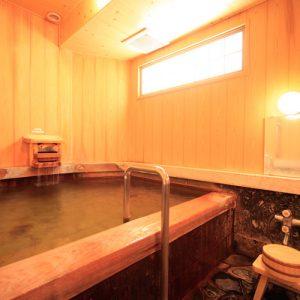 料理旅館渚館の天然温泉