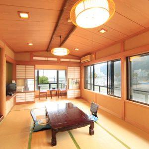 料理旅館渚館のぺットと泊まれる部屋