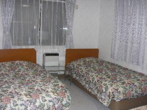 ペンションビッグフォレストのぺットと泊まれる部屋