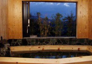 ビスキーハウスの天然温泉