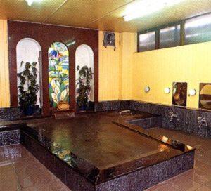ビワ池ホテルの天然温泉
