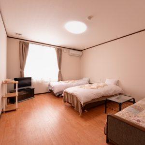 ロッジB&Wのペットと泊まれる部屋