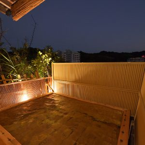 小松家八の坊の天然温泉