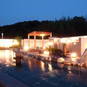 ニュー八景園の天然温泉