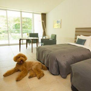 小田急箱根ハイランドホテルのペットと泊まれる部屋