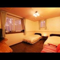 ペンション ハロハロinn那須のペットと泊まれる部屋