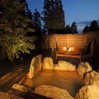 旅館 花心の温泉