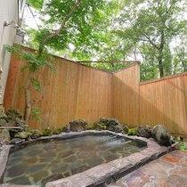 ザ・ハートフィールド・インの天然温泉の露天風呂