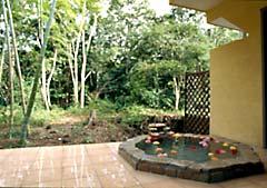 別邸石の家の天然温泉