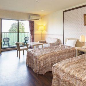 伊豆高原わんわんパラダイスホテルのぺットと泊まれる部屋