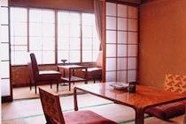 柏木旅館の和室