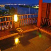暖灯館きくのやのおごと温泉の天然温泉