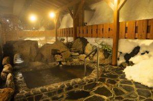 古城館の天然温泉