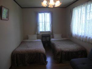 ペンションLittle treeのぺットと泊まれる部屋