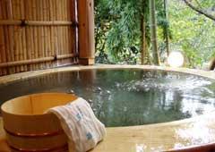 渚苑の天然温泉