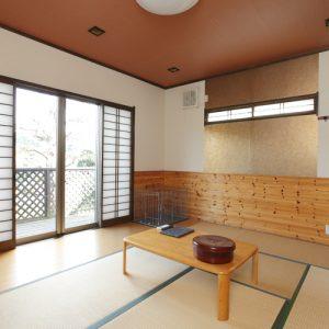 七沢荘のペットと泊まれる部屋