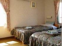 ペンション菜の花館のペットと泊まれる部屋
