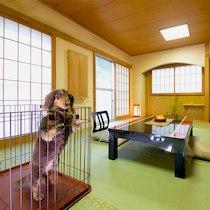 ニュー扇屋のペットと泊まれる部屋