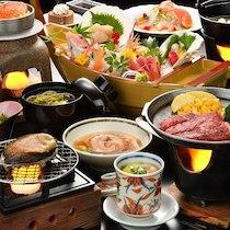 ニュー泊崎荘の食事