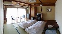 野上本館のペットと泊まれる部屋