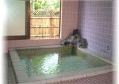 ペンショントップスの天然温泉