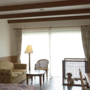 都リゾート志摩ベイサイドテラスのぺットと泊まれる部屋