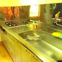 妖精の森コテージラウルのキッチン