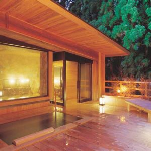 一里野高原ホテルろあんの天然温泉