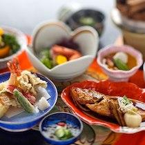 料理旅館 夕日ヶ浦の食事