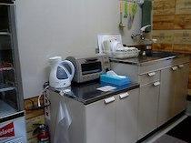 ペンションサウンズグッド!のキッチン