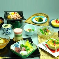 日昇館 尚心亭の食事