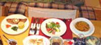 ペンション ワンダーランドの食事