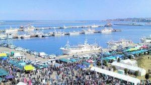 八戸の漁港と市場
