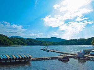 一碧湖(伊豆高原・静岡県)