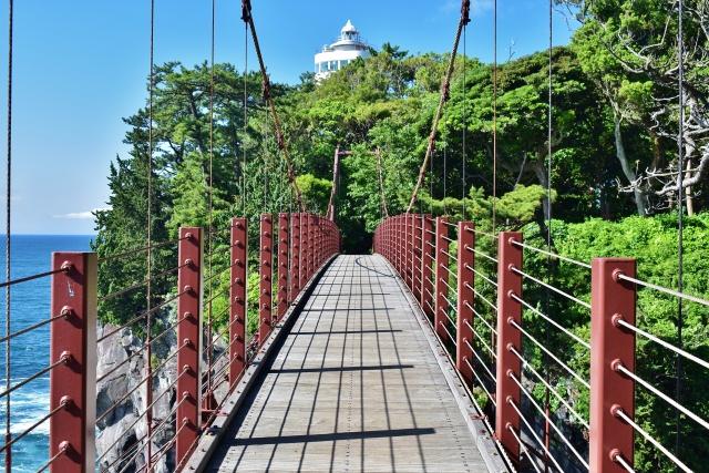 城ヶ崎海岸 門脇つり橋