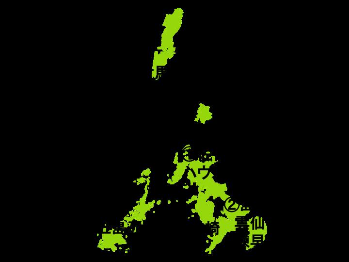 長崎県の地図