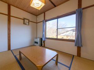 休暇村 茶臼山高原のペットと泊まれるコテージ