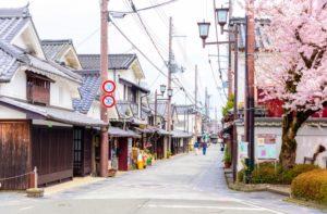 篠山の街並み(兵庫県のおすすめ観光スポット)