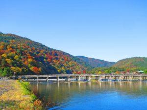 渡月橋(京都のおすすめ観光スポット)