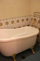 花七曜コテージのお風呂