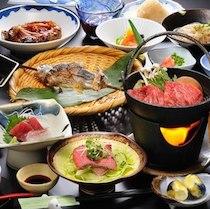 名湯の宿 吾妻荘の食事