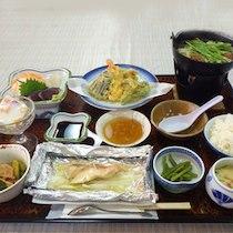 五の宮の湯の食事