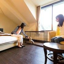 ホテル森の風 田沢湖のペットと泊まれる部屋