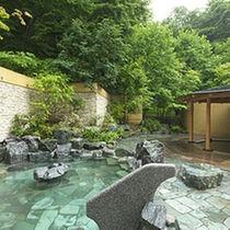 定山渓鶴雅リゾートスパ森の謌の温泉