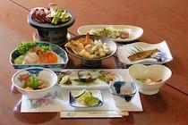 糠平温泉ホテルの食事