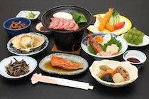 徳田屋旅館の食事