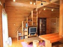 貸別荘 天ヶ瀬ウッディハウスGのペットと泊まれる部屋