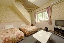 ペンションアニマーレ アネックスのペットと泊まれる部屋