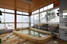 ホテルはやしの別府温泉の展望風呂