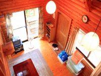 貸別荘 宝泉寺温泉ログハウスAのペットと泊まれる部屋
